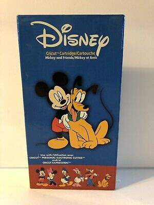 CRICUT CARTRIDGE - DISNEY'S MICKEY AND FRIENDS - Gently Used