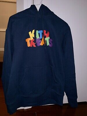 Kith Treats Sweatshirt - Size Small - Navy Blue - Sold Out - 100% Authentic