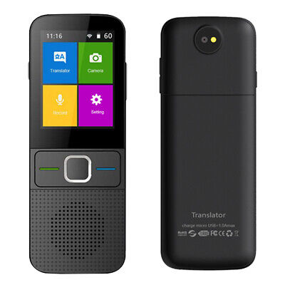 Learn WIFI Portable Real Time Smart Voice Off Line Language Translator Travels