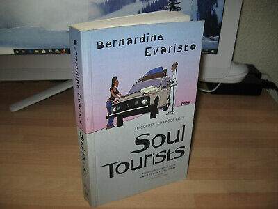 Bernardine Evaristo - Soul Tourists 2005 uncorrected proof Booker Prize Winner