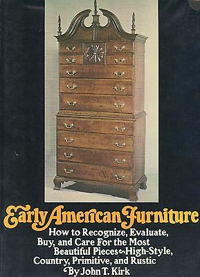 Early American Furniture - Recognize Evaluate Types Styles Etc. / Scarce Book
