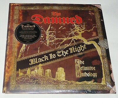 The Damned Black Is The Night LP - New Quadruple GOLD Vinyl - New/Official
