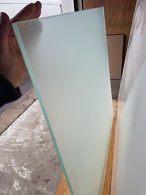 Joblot 10M Run Frosted Toughened Glass Panels Sheets Privacy Balcony Partitions
