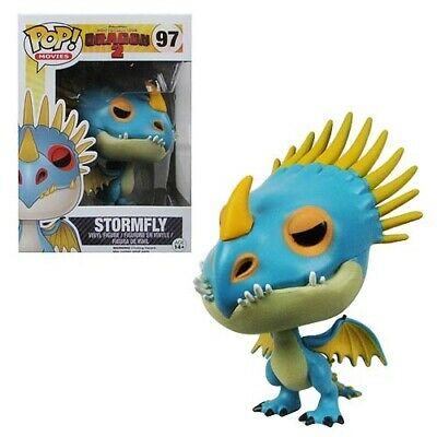 Funko Pop How To Train Your Dragon 2 Stormfly #97 Vaulted *Rare* Yr 2014 OOB
