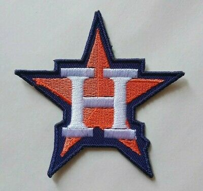 "Houston Astros Embroidered 3"" Iron On Patch"
