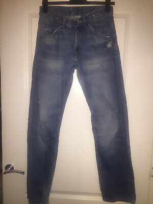 Boys H&M Blue Jeans With Brace Buttons Aged 14+
