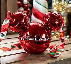 Disney Parks 2019 Christmas Holiday Mickey Jingle Bell Souvenir Sipper