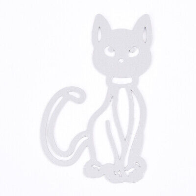 Cat Metal Cutting Dies DIY Stencil For Scrapbooking Gift UKPL Paper Decor C F0E5