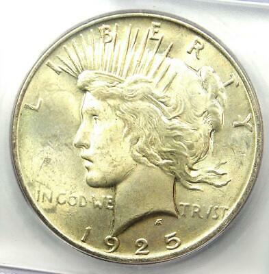 1925 Peace Silver Dollar $1 - Certified ICG MS66 - Rare Grade - $350 Value!