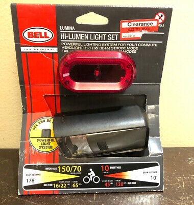 Bell 7090904 Lumina 300 Compact Bicycle Head Light