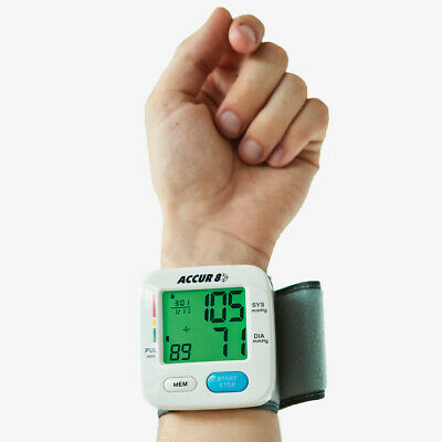 Colour Coded Blood Pressure Monitor
