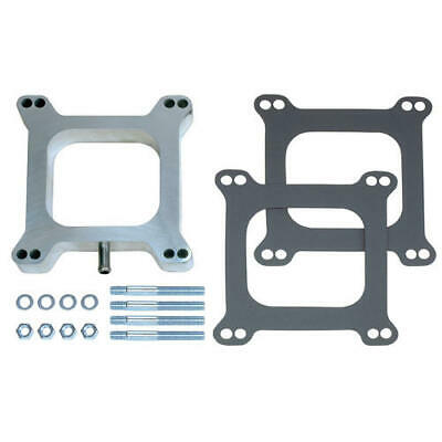 """2103 Trans Dapt Performance 1"""" Tall, Holley/Afb 4Bbl Spacer With Pcv  Open  Cast"""