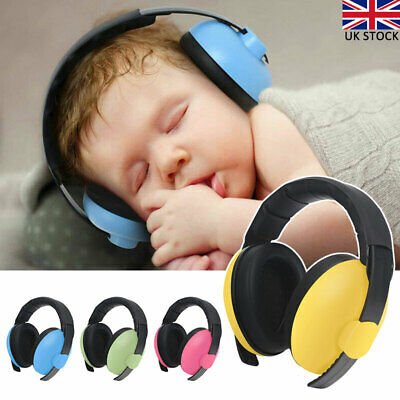 Kids Baby Ear Defenders Folding Noise Reduction Protectors Children Adjustable