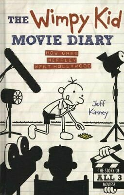 Wimpy Kid Movie Diary NEW Kinney Jeff