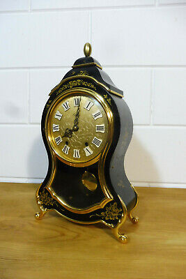 Boulle Clock Eluxa Swiss Made Mantel Clock Perfect Condition
