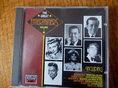 CD ALBUM - THE GREAT ENTERTAINERS - Vol 1 [1989]