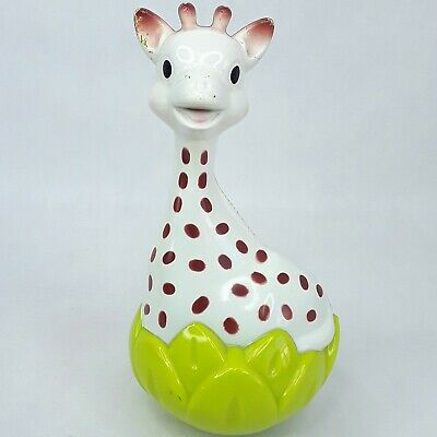 Sophie Giraffe baby toy figure Chime ball roly poly