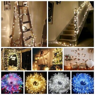 2-10M LED Fairy Lights Battery Micro Warm String Xmas Party Copper Wire Outdoor