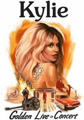 KYLIE MINOGUE GOLDEN LIVE IN CONCERT 2 CD + DVD (Released 6/12/2019) - PRE-ORDER
