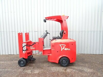 FLEXI VNAac , 1300Kg. USED ARTICULATED ELECTRIC FORKLIFT TRUCK. (#2539)