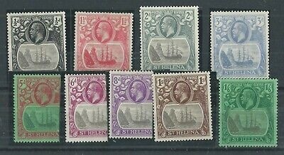 St Helena 1923 Selection Mlh-Mh