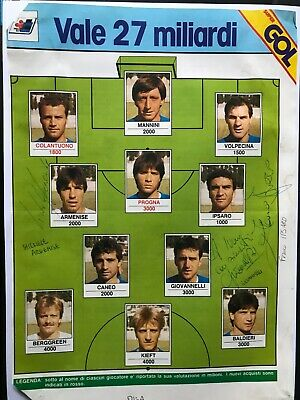 3 Autografi originali AC PISA 85/86-Giovanelli+Armenise+Ipsaro-IN PERSON-L@@@K!!