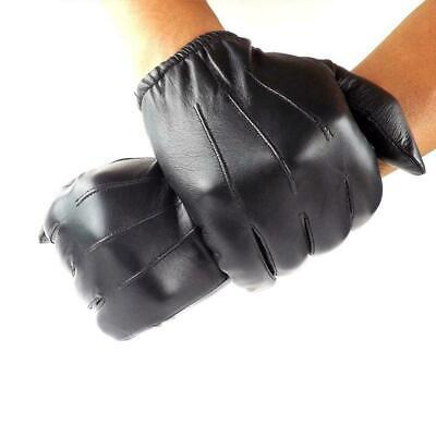 Made With Kevlar Police Anti Slash Fire Resistant Leather SIA Gloves Securi S6U4