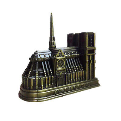 Notre Dame de Paris Statue Figurine Replica for Souvenirs of France 13x10.5x14CM