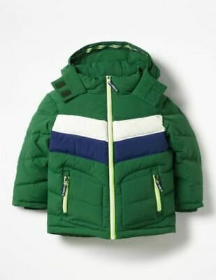 Boden Boys Thick Padded Jacket Coat Ages 2-16  Bnwot  Red Green Navy