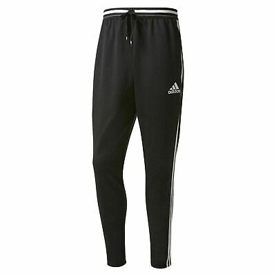 New with Tags Mens Adidas Condivo 16 Training Pants (Black/White) L MSRP $ 50