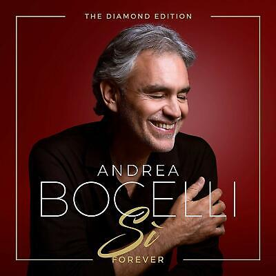 ANDREA BOCELLI SI FOREVER: THE DIAMOND EDITION CD (Released November 8th 2019)