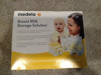 New Medela Breastmilk Storage Solution Set High Quality Bags Bottles Tray Milk