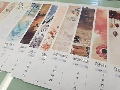 3Quarter Designs 12 Months of Crafting 2020 Calendar