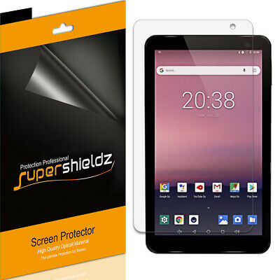 3X SuperShieldz Clear Screen Protector Saver for Evoo 7 inch Tablet