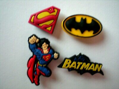 Shoe Charm Plug Buttons For WristBands For Accessorie SUPER HEROS