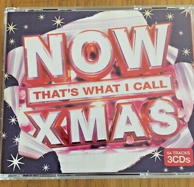 Now That's What I Call Christmas - 3 CDs In Total - see images for songs