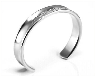 Authentic TIFFANY & Co Sterling Silver 1837 Cuff Bracelet - 12.5mm Wide - Unisex