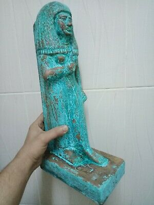 A rare statue of a pharaoh. Ancient Egyptian civilization 2