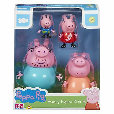PEPPA / PEPPER PIG - Family Figures Playset Great Kid Xmas Gift Present NEW