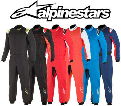 Alpinestars KMX-9 v2 S Youth Kart Suit, Autograss, Cik Fia Level 2 Neu für 2019