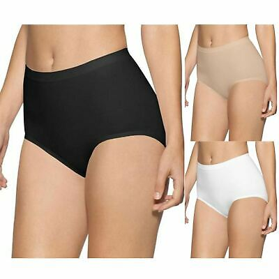 6 Pair Ladies Womens Cotton Plain Maxi Full Briefs Adults Knickers Pants 10-24