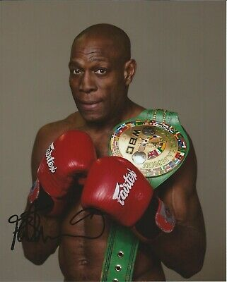 Frank Bruno autograph - signed photo - Boxer - Boxing