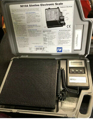 TIF9010A Slimline Refrigerant Electronic Charging/Recover Scale