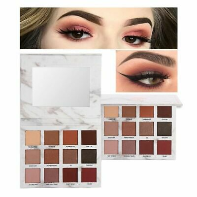 Charming Eye Makeup Mineral Pigment Marble Eyeshadow Palette Pearl Shimmer