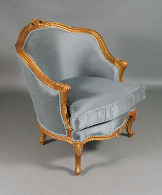 Classic French Chair in Louis Quinze Style