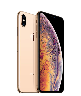Apple iPhone XS Max - 256GB - Gold  ( AT&T Cricket H2O Net10) 9/10