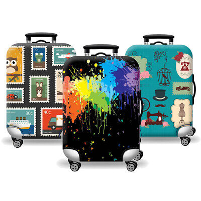 "18-32"" Travel Luggage Suitcase Case Cover Elastic Scratch Dustproof Protector AU"