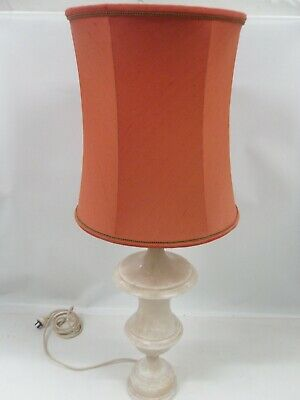 Large Italian Alabaster Lamp