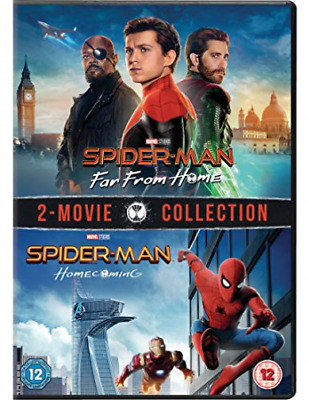 Spider-Man: Homecoming & Far From Home DVD NUOVO