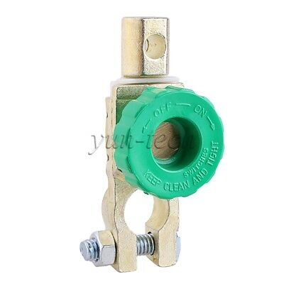Auto Car Parts Battery Terminal Link Switch Disconnect Switch With Green Knob
